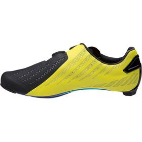 PEARL iZUMi Pro Leader V4 Chaussures, black/lime